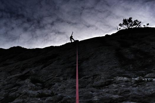 Taja's 1st successful climb