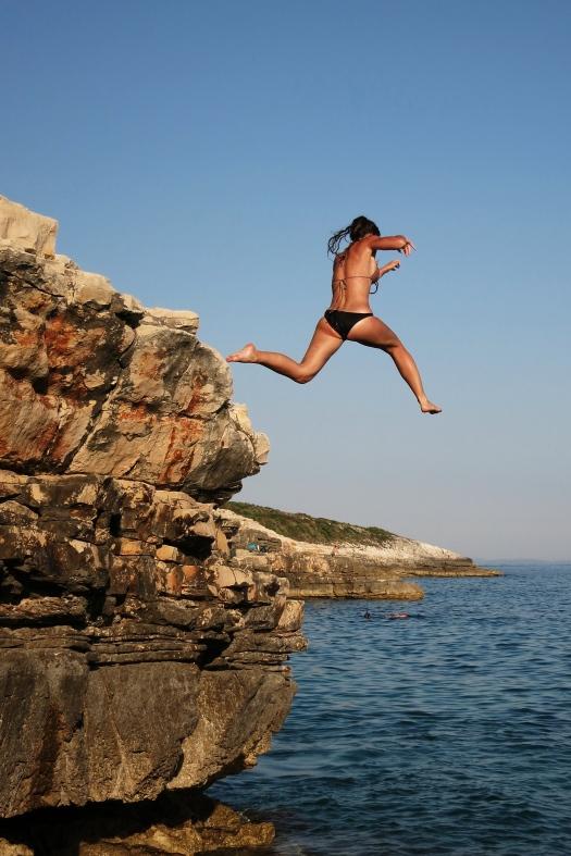 """Jump"" i said"