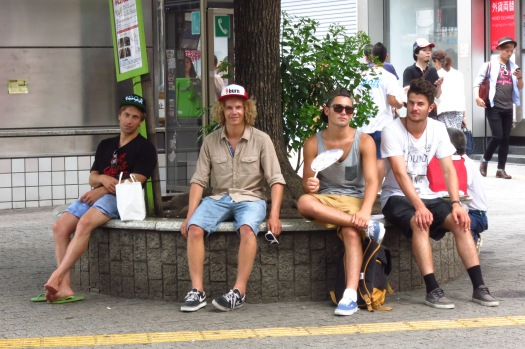 Boys 'Big in Japan'