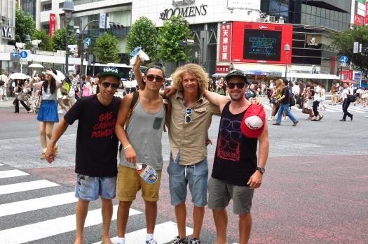 Shibuya square - madhouse