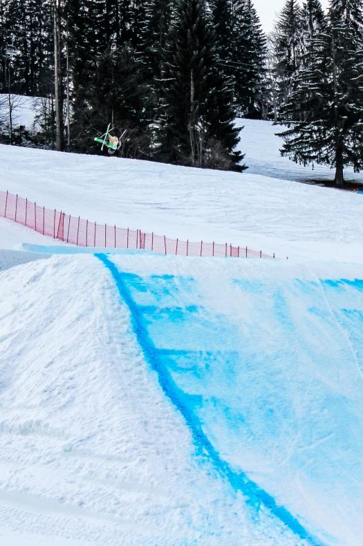 Me enjoying the second jump photo: Rok Dokl