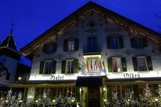 The city of Gstaad