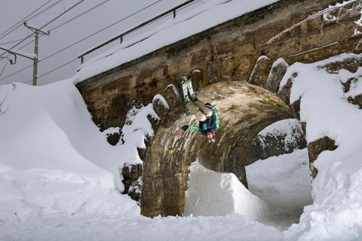 Tunnel vision in winter photo: Katja Pokorn