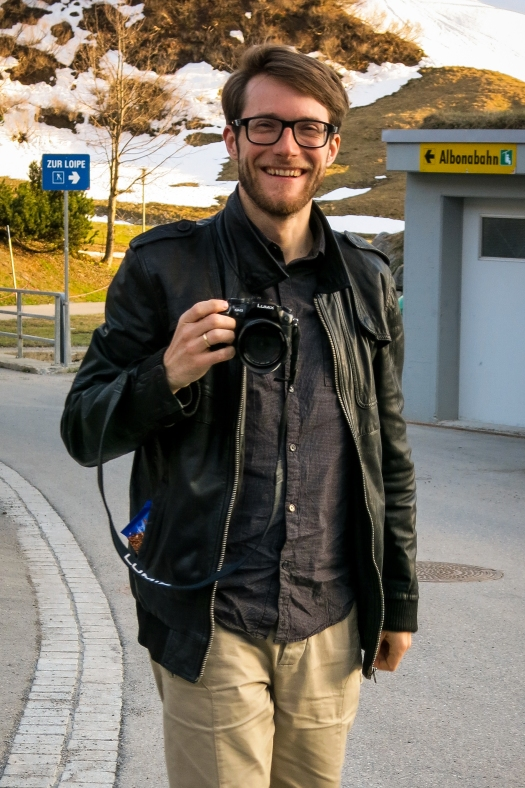 Christoph Trojer - our photographer and filmer